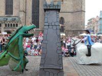 Drak, Jiří a věž
