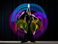 Irisado - světelná show